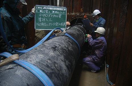 平成22年4月26日竣工_JR久大本線麦生踏切横断推進工事
