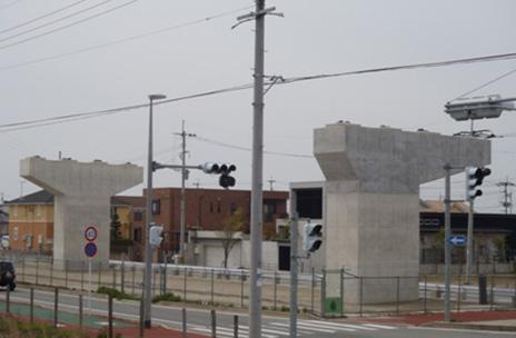 平成25年3月28日竣工_福岡208号 徳益高架橋下部工(P50-P51)工事